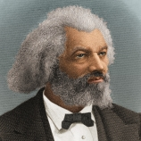 Frederick Douglass color portrait