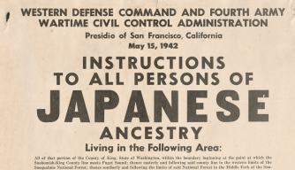 Japanese-American Relocation