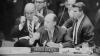 adlai stevenson, us ambassador, united nations, resolution calling, cuban missile crisis, the cold war