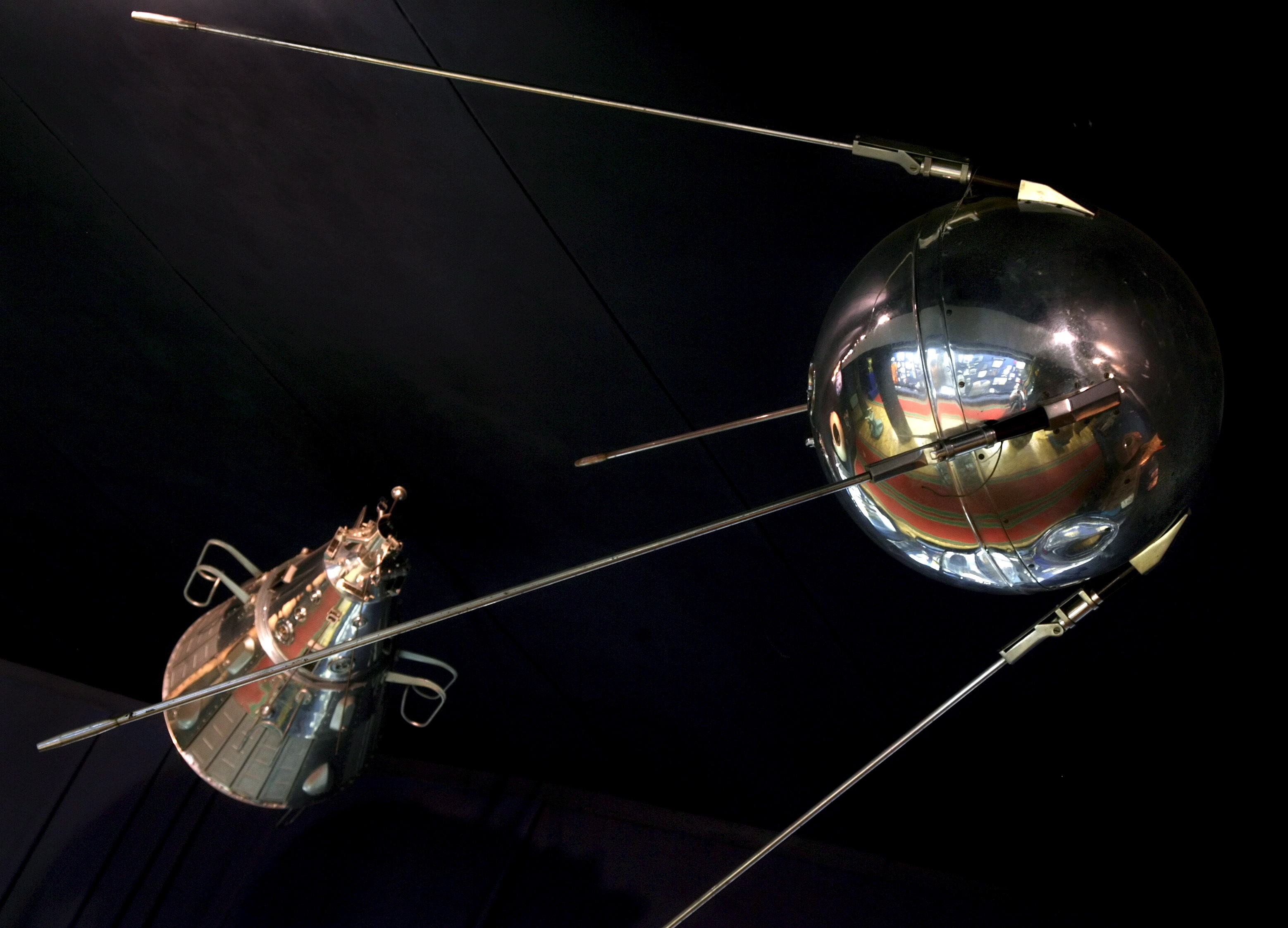 Russia 50 Year Anniversary Of The First Satellite Sputnik