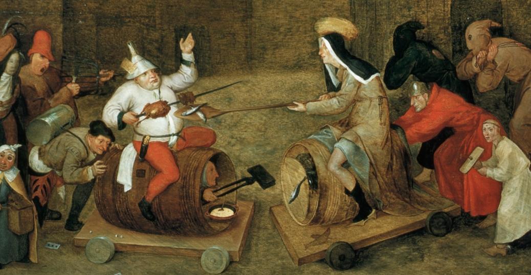 carnival, ash wednesday, lent, Christianity, pieter bruegel