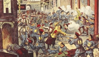 boxer rebellion, china