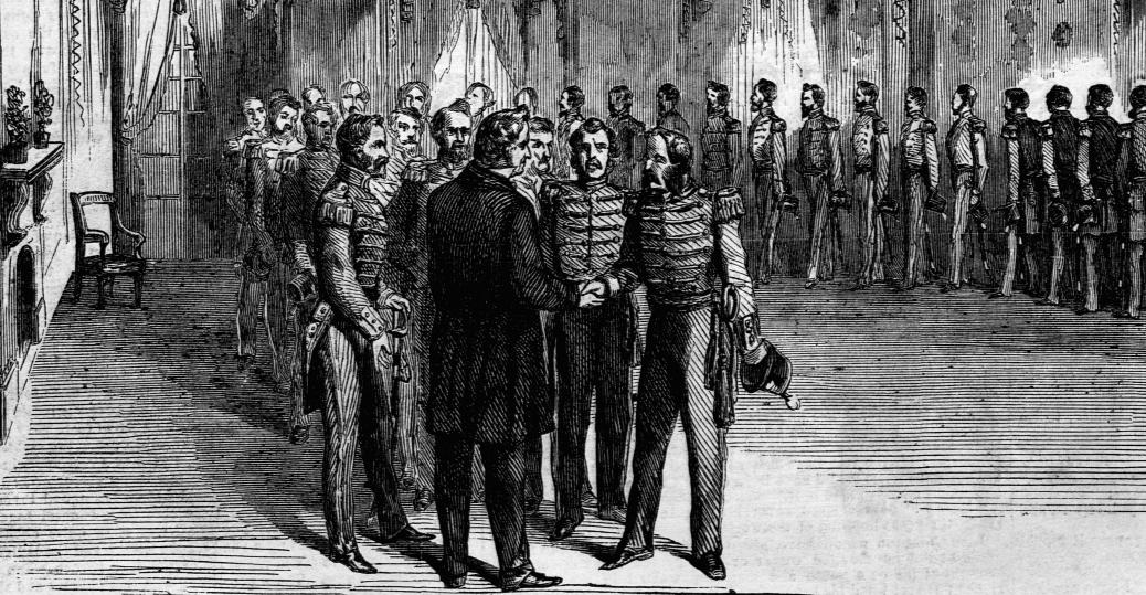 1860 presidential election, abraham lincoln, democratic party, republican party, president james buchanan