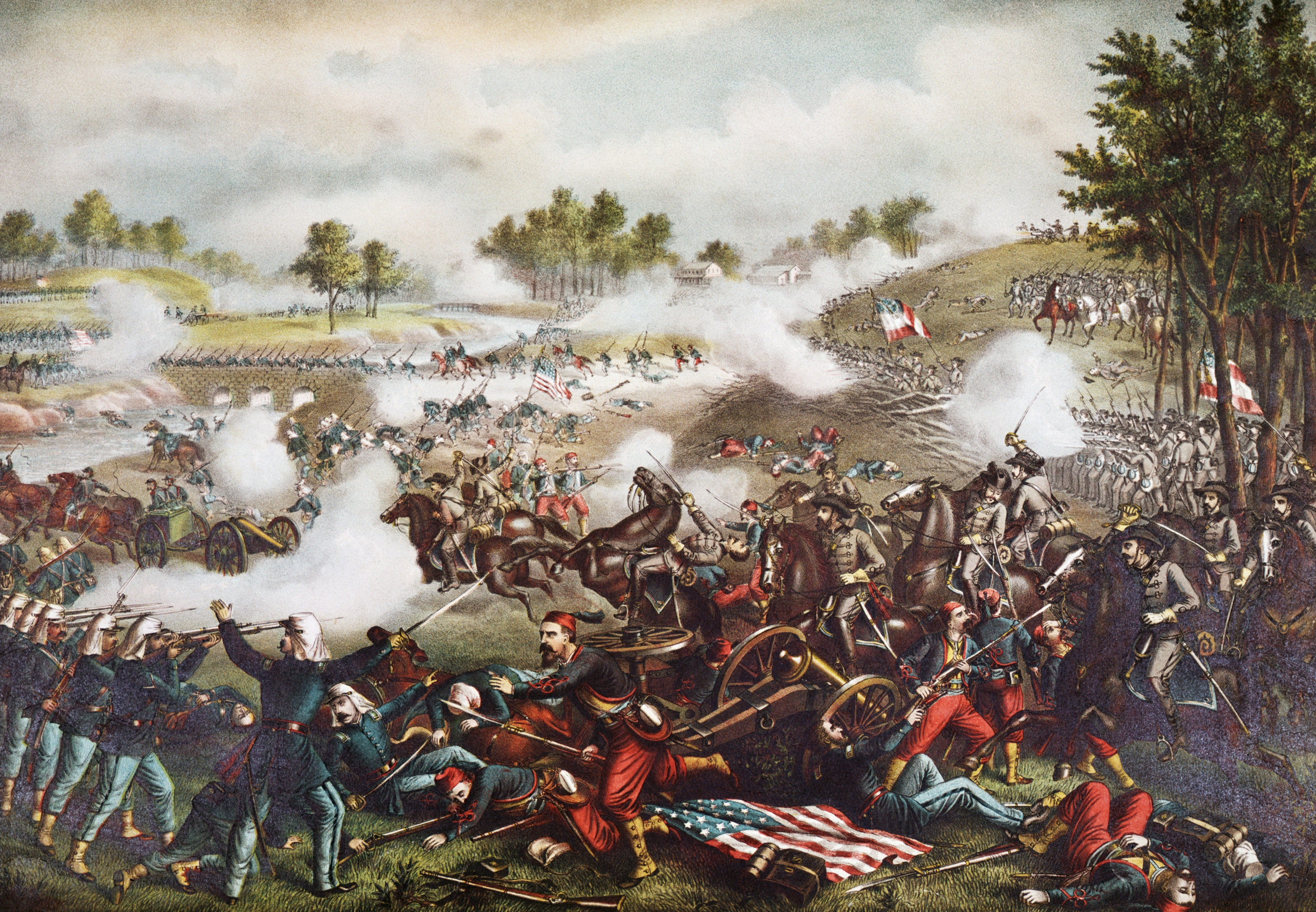 The civil war was fought from 1861 to: