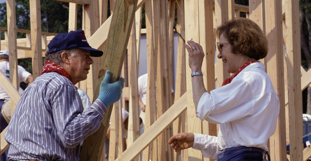 habitat for humanity, jimmy carter, rosalynn carter, the carters, jimmy carter work project, president carter
