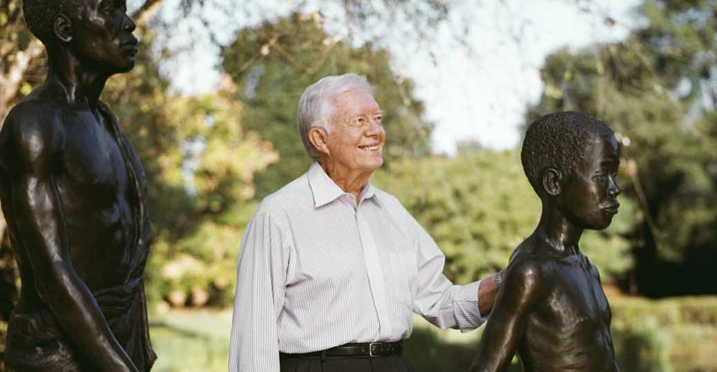 nobel peace prize, 2002, the carter center, president jimmy carter