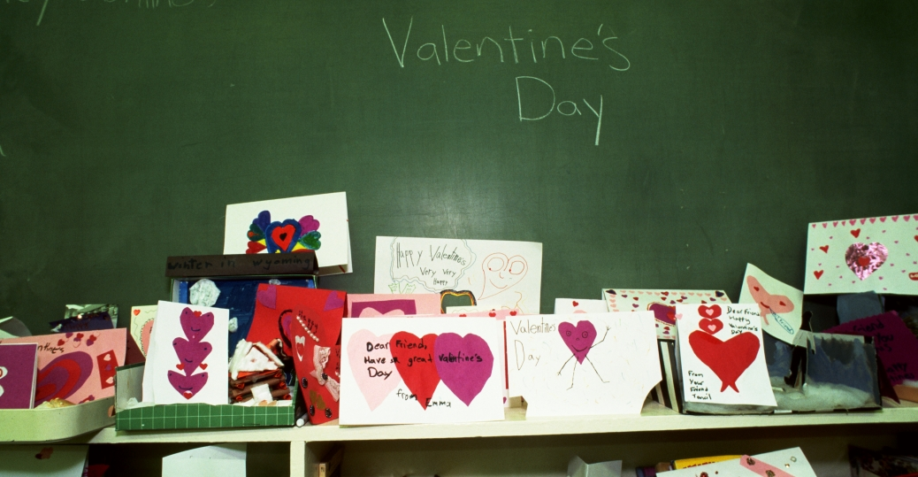 new york city, valentine's day, february 14th, children, valentine's day cards, 1996