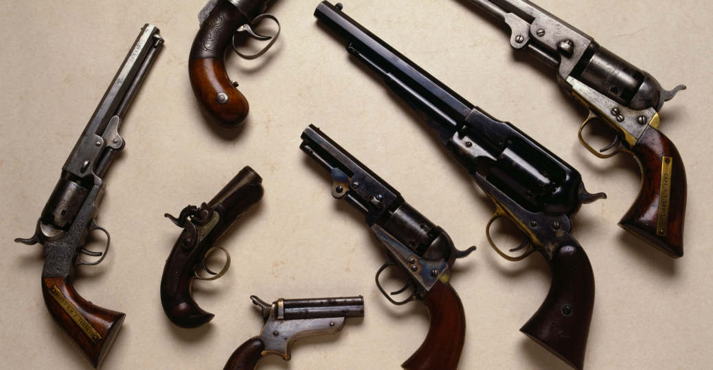 civil war guns, civil war pistols, civil war weapons, the civil war, civil war artifacts
