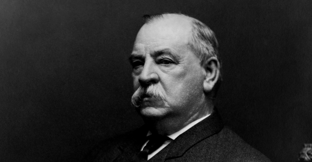 the gold standard, recession, second term, economic panic, cleveland's second term, president grover cleveland