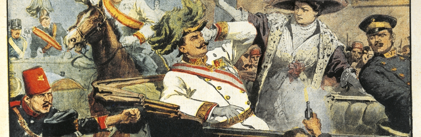 Death of Archduke Franz Ferdinand and the Outbreak of World War I