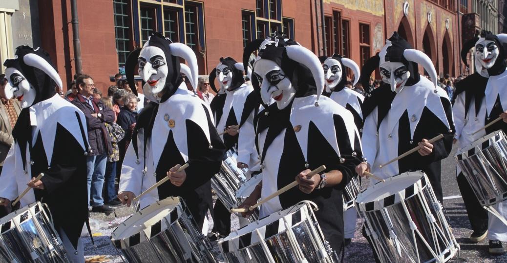 basel, switzerland, carnival, fasnacht festival, jesters