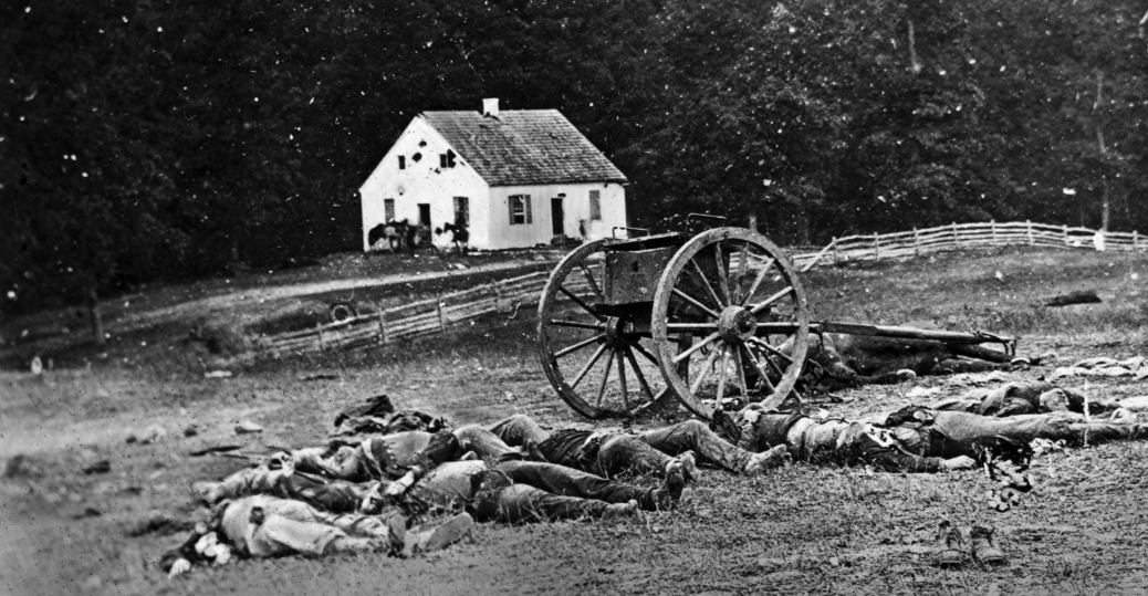 dunker church, battle of antietam, the civil war, sharpsburg, maryland, aid station, 1862