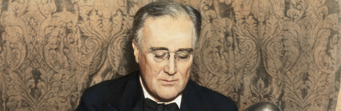 a rhetorical analysis of franklin delano roosevelts first fireside chat Franklin d roosevelt this authenticity was in the first place a rhetorical performance, but for instance his fireside chats continue to be experienced as frank.