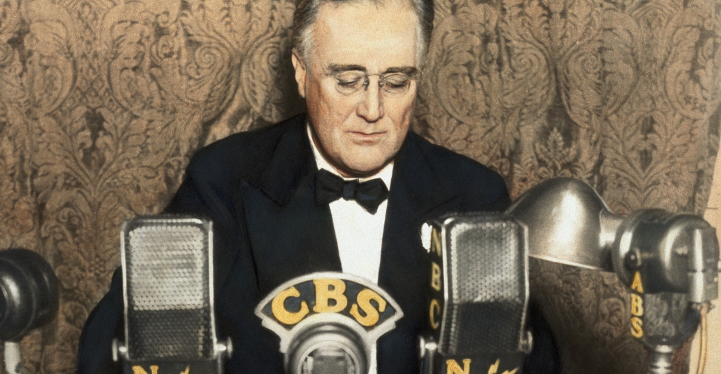 fireside chats, radio, the great depression, roosevelt, fdr, franklin d roosevelt