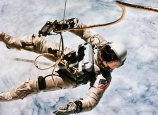 edward h. white, the first spacewalk, june 3, 1965, the space race, astronaut white