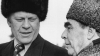 soviet leader, leonid brezhnev, the cold war, gerald ford