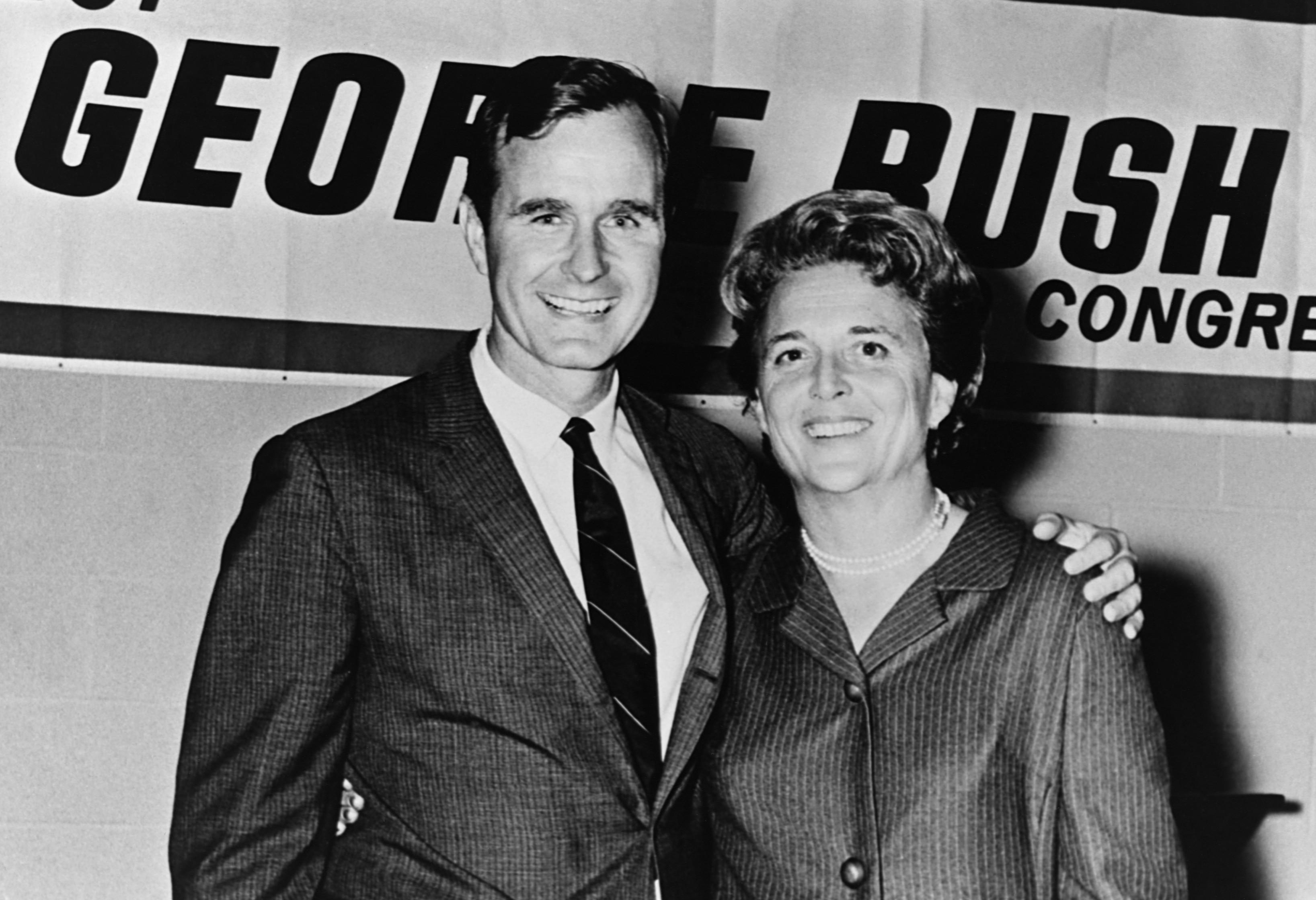 Texas Congressman George Bush Political Career 1966