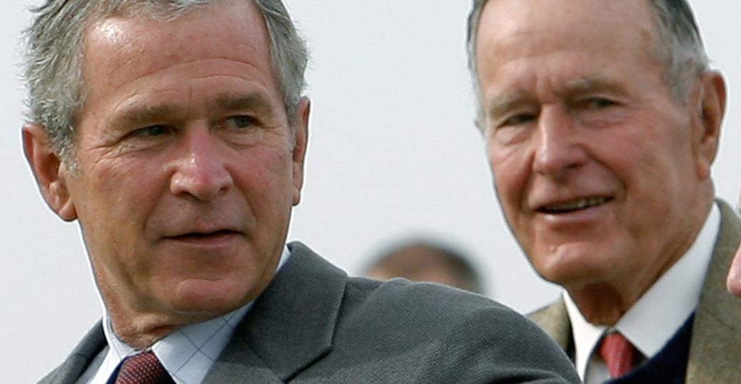 2000 presidential elections, george w. bush, george h. w. bush, the bush family