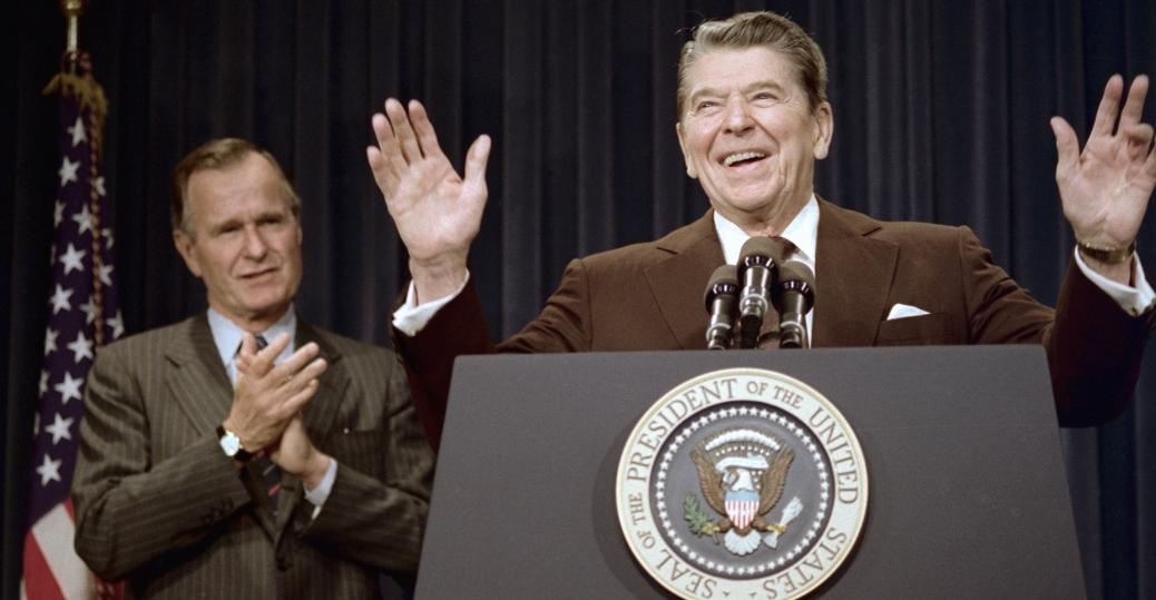 vice president, george bush, ronald reagan