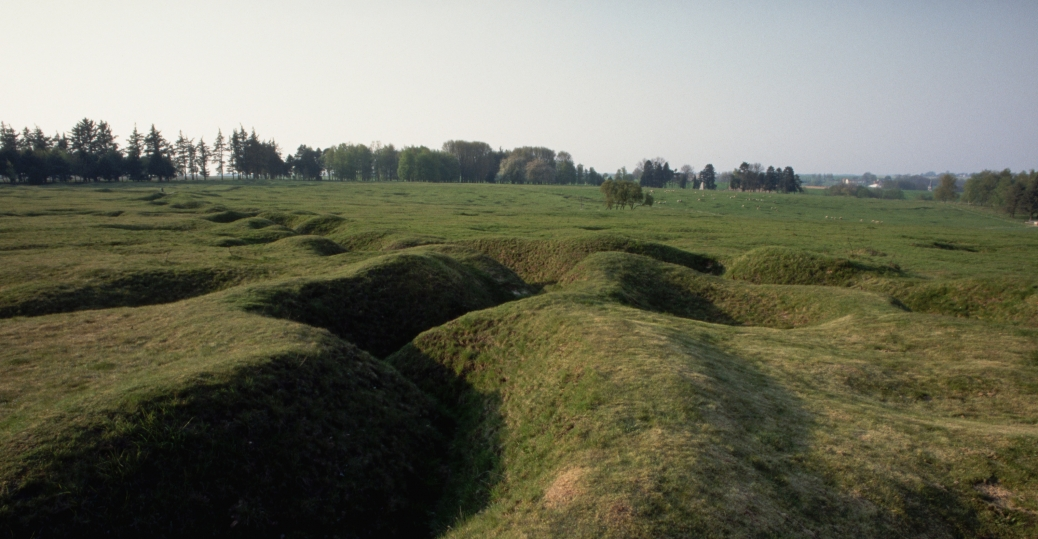 german trenches, trench warfare, somme river, world war I