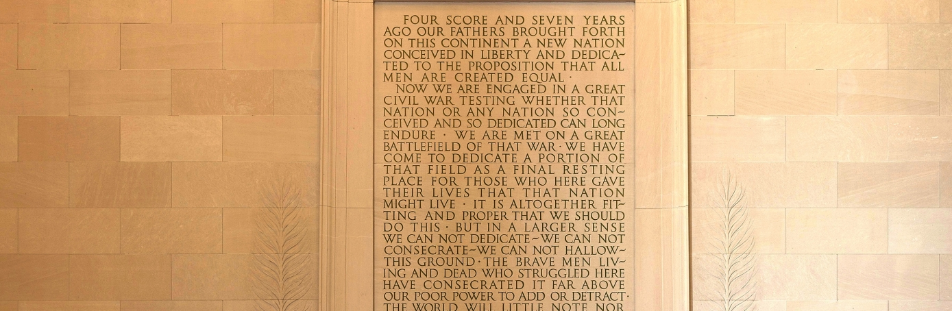 the gettysburg address american civil war com lincoln memorial