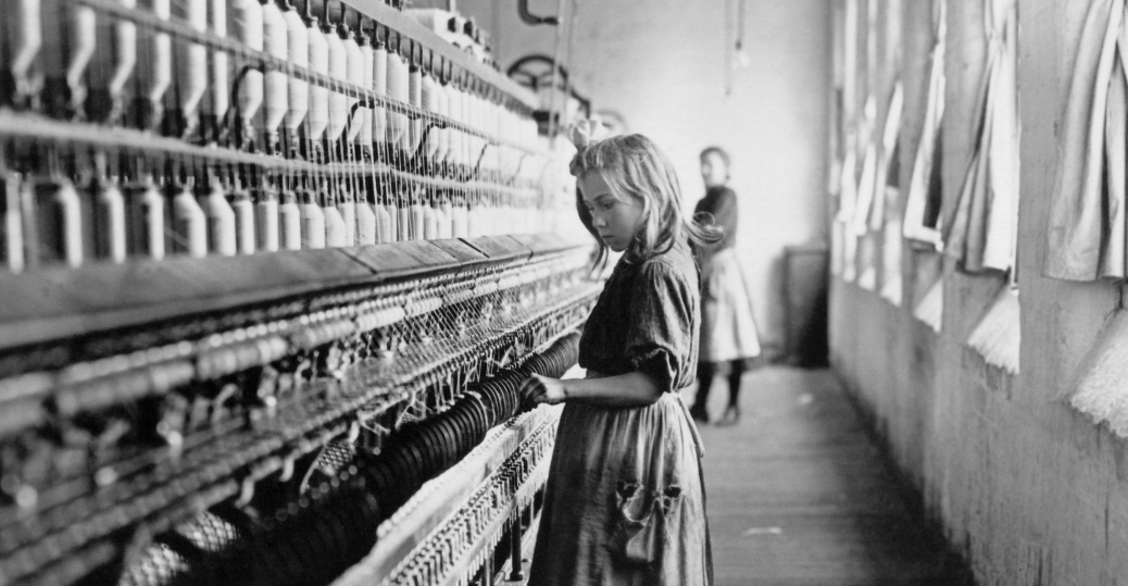 childs cotton machine