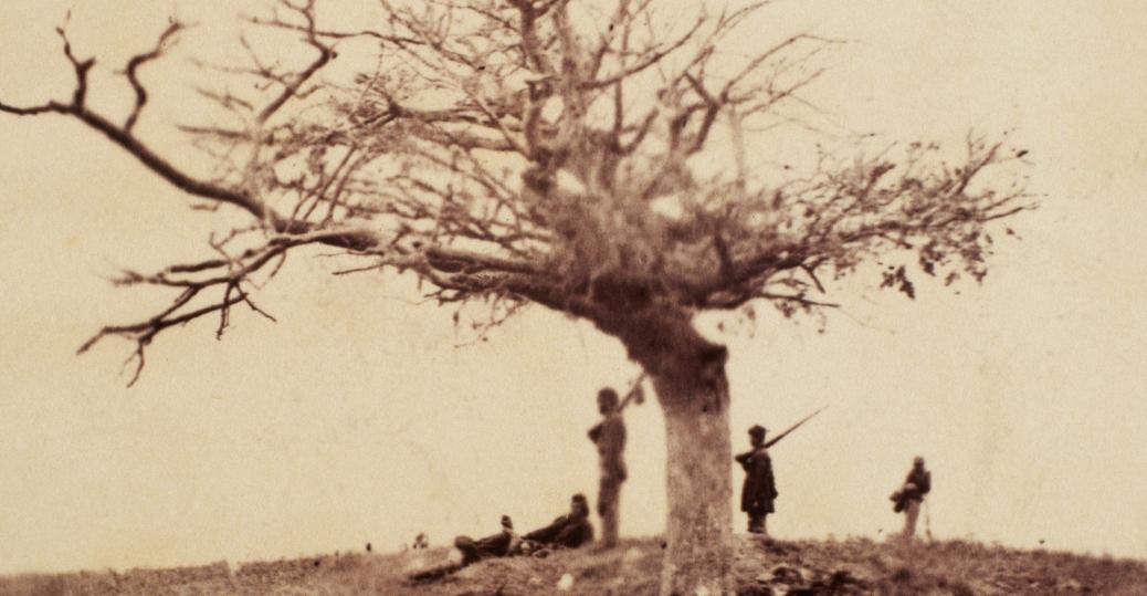 union soldiers, the civil war, battle of antietam, grave of john marshall, maryland, sharpsburg