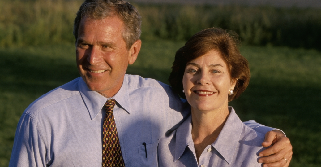 laura welch, laura bush, george w. bush, 1977, wedding, marriage