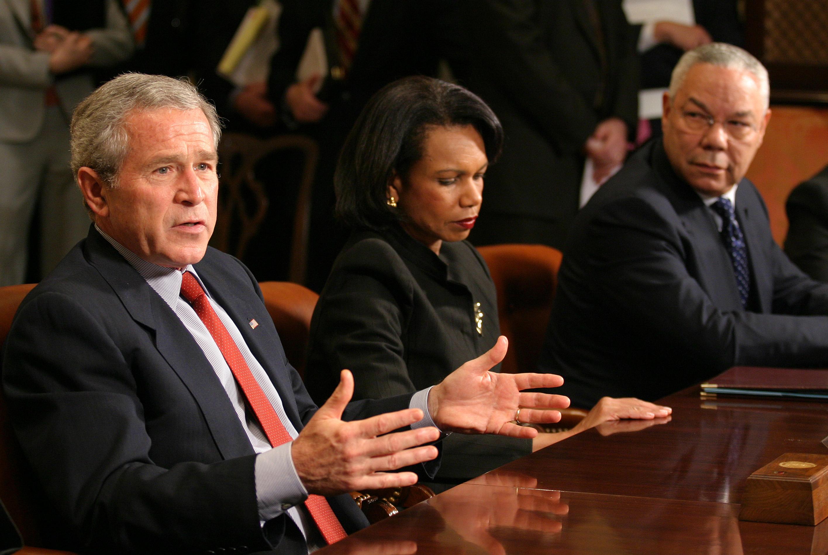 Condoleezza Rice ve Bush'a Görüntü sonucu