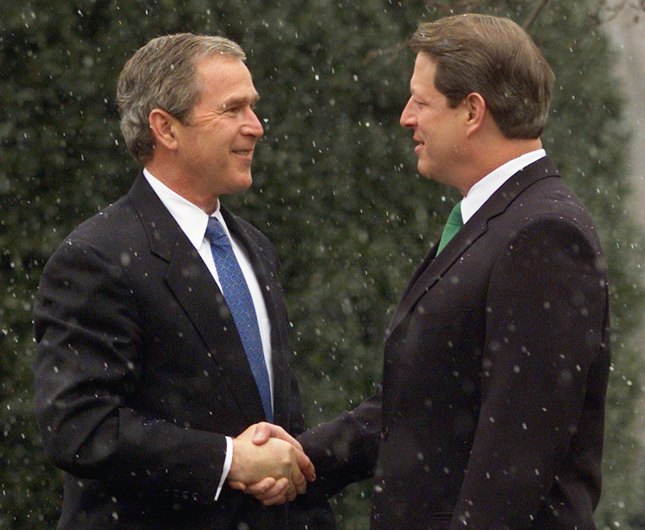 an analysis and a comparison of george w bush and al gore