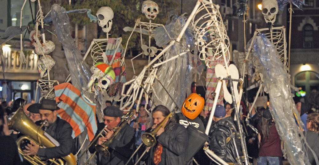 halloween, halloween parade, new york city