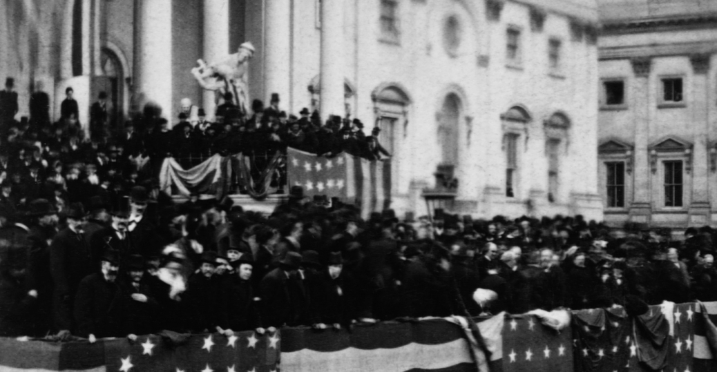 president rutherford b. hayes, hayes' inauguration, post civil war, 1877