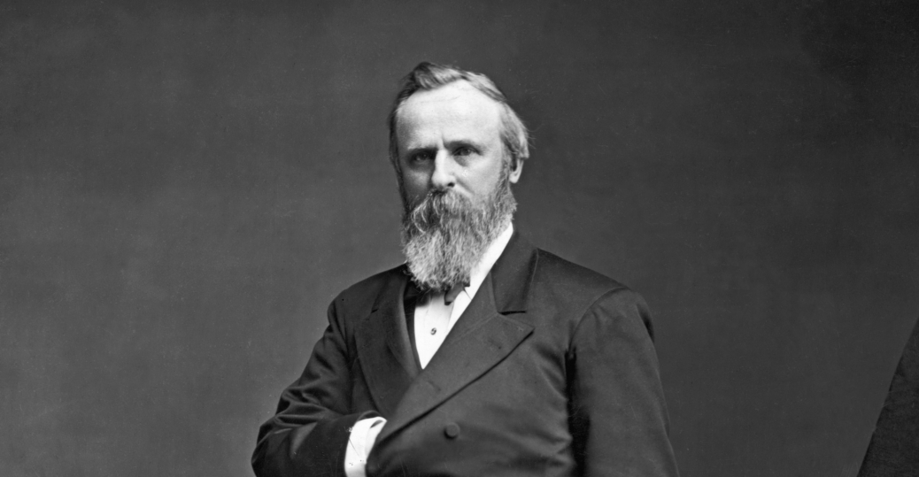 1877, president rutherford b. hayes, the great railroad strike