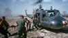 helicopter, wounded soldiers, dust-off, the vietnam war, vietnam, evacuation