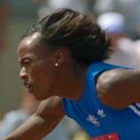 Jackie Joyner-Kersee hurdles