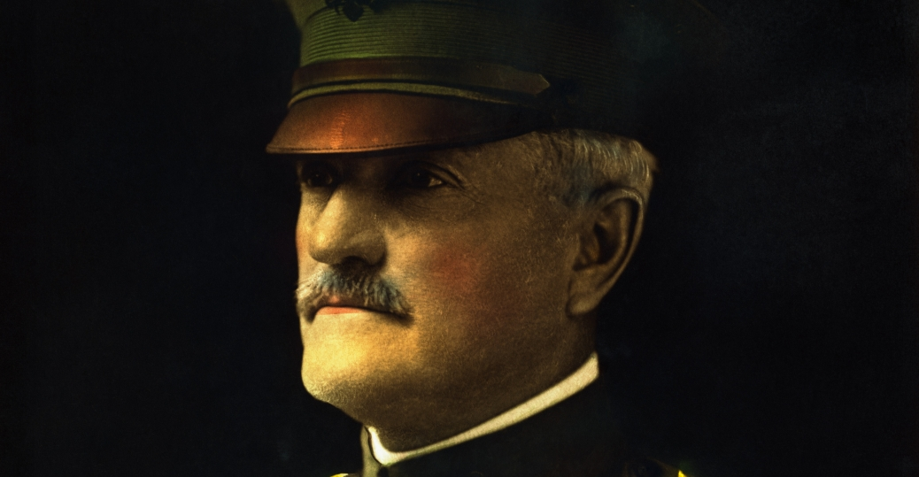 the battle of san juan hill, black jack pershing, americna expeditionary force, world war I, 1917, General John J. Pershing