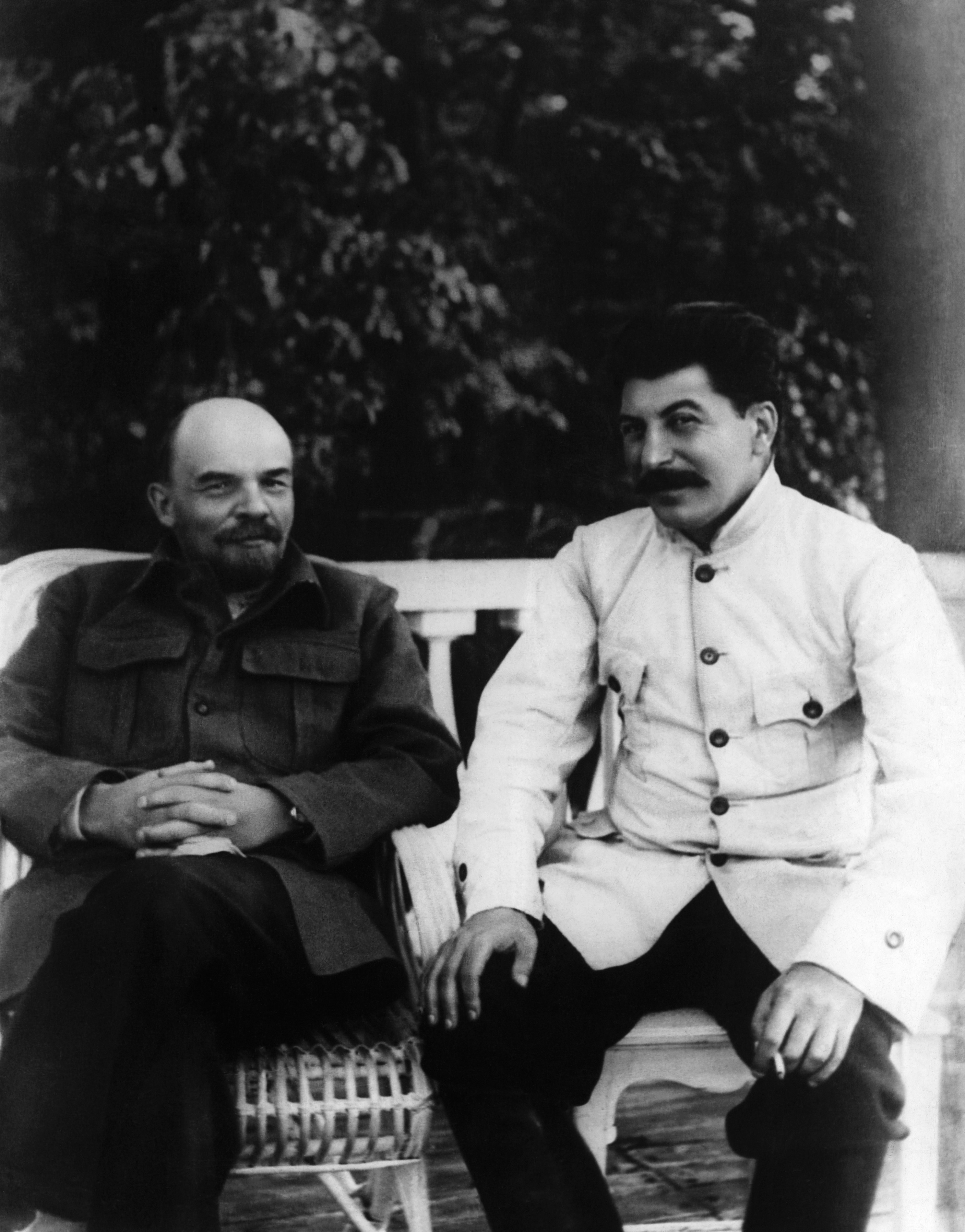 stalin and lenin relationship