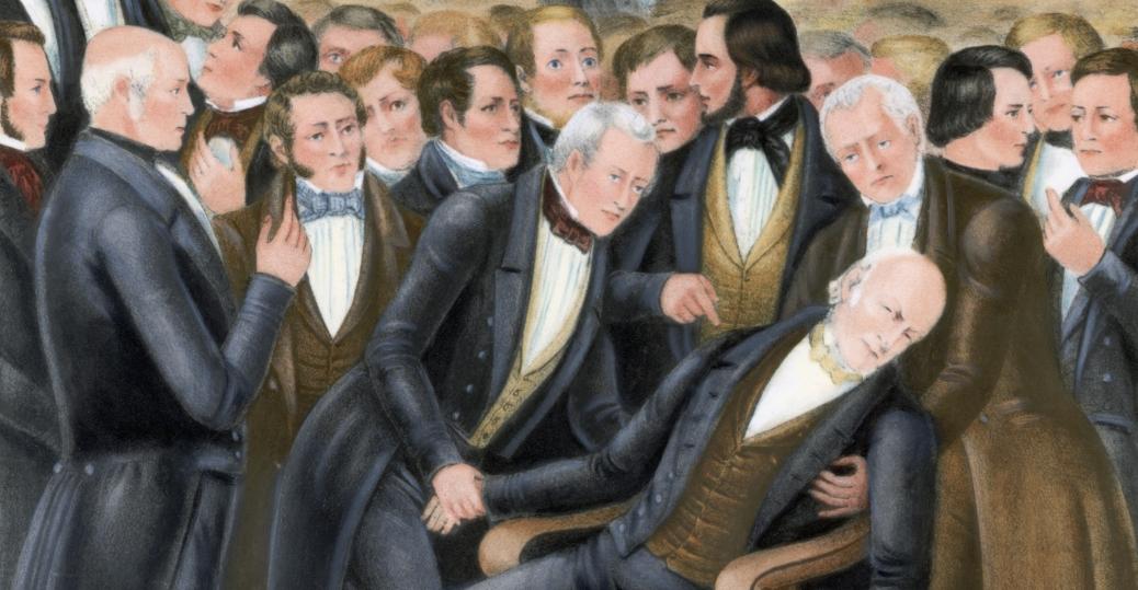 1848, john quincy adams, john quincy adams stroke
