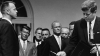president kennedy, john f. kennedy, alan shepard, astronaut shepard, nasa distinguished service medal, first american manned space flight, the space race, the cold war