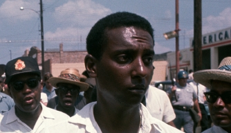 Stokely Carmichael with MLK