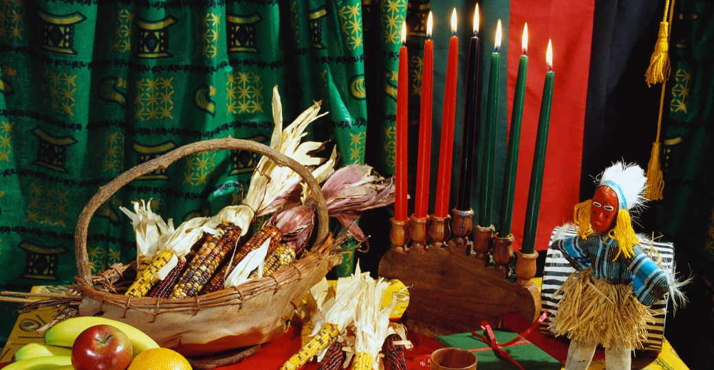 kwanzaa, the seven nights of kwanzaa, symbols of kwanzaa, unity, self determination, collective responsibility, cooperative economics, purpose, creativity, faith, kwanzaa celebrations, holidays