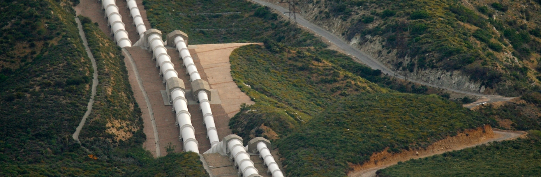 La Aqueduct Los Angeles California