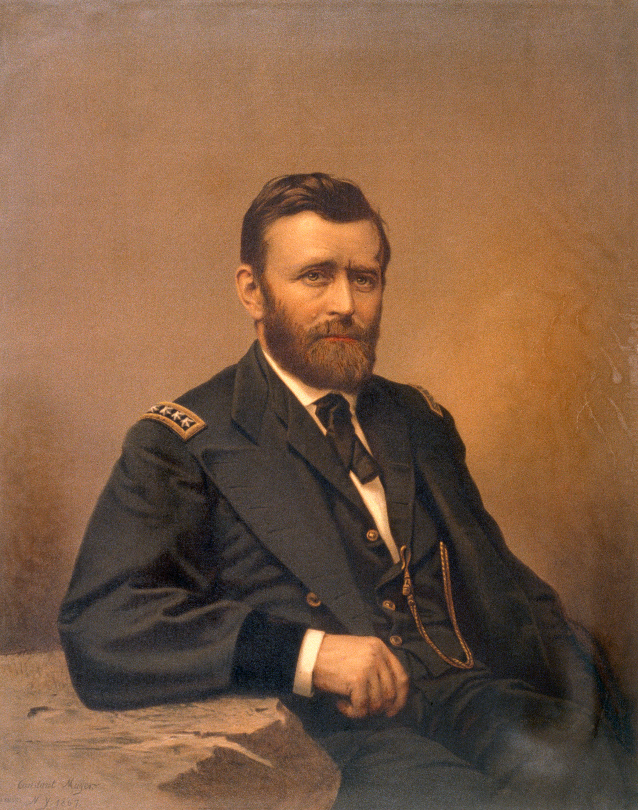 Ulysses s grant wearing military uniform union military leaders ulysses s grant the union army union military leaders the civil war publicscrutiny Images