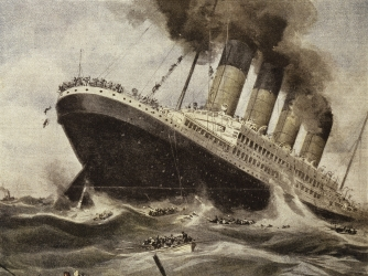 other causes involved in the sinking of the rms titanic Useful notes / rms titanic  compare these titanic sinking  and the worst event he was ever involved in before titanic was the collision.