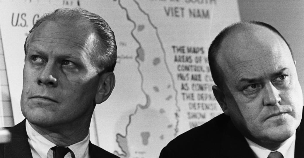 gerald ford, melvin laird, communist areas, south vietnam, 1970, the vietnam war