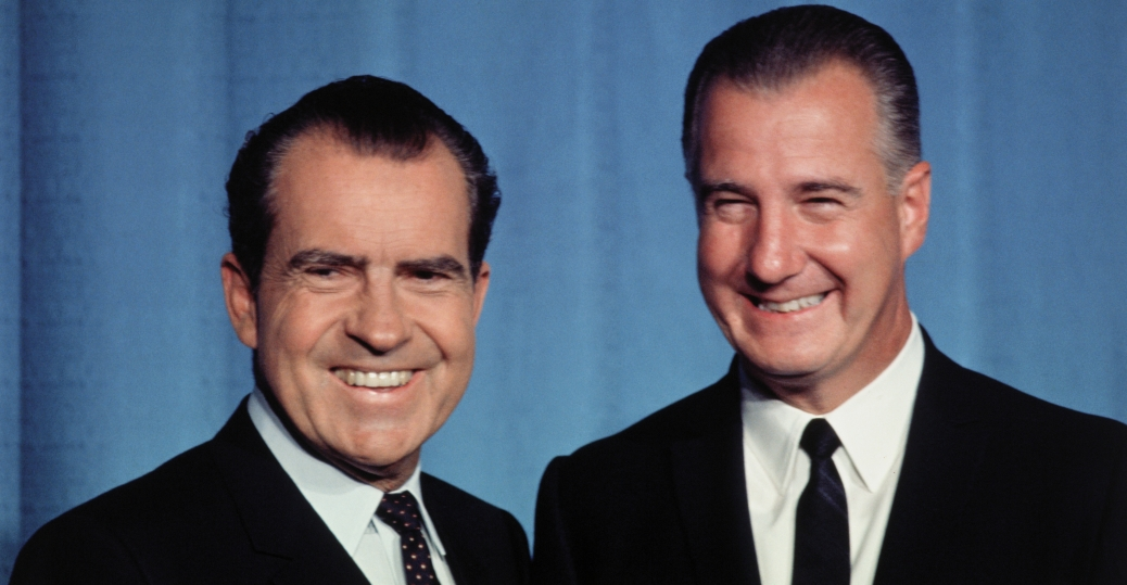 vice president spiro agnew, nixon's vice president, president nixon, richard nixon, angew's resignation, spiro agnew, corruption charges