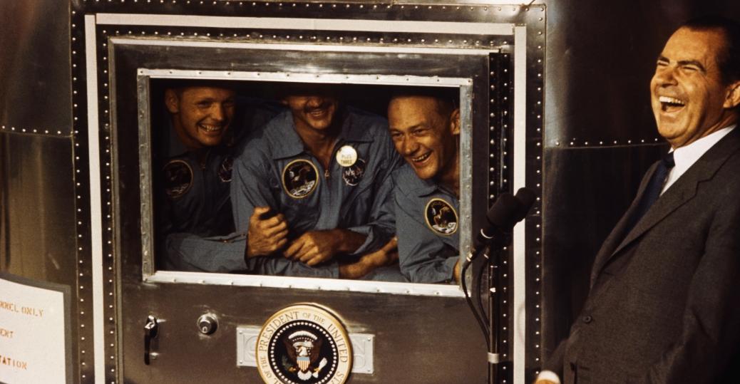 president nixon, apollo 11, apollo 11 astronauts, neil armstrong, michael collins, buzz aldrin, the space race