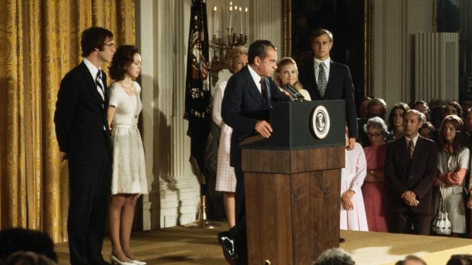 nixon's farewell speech, nixon's resignation, president nixon, richard nixon