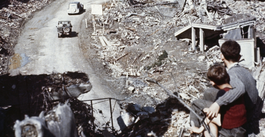 the damages caused by world war ii World war ii: the fall of imperial japan alan  a victim of atomic radiation caused by the  while the surrender ceremonies to end world war ii take place.
