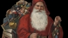 saint nicholas, sinter klaas, santa claus, saint nick, 19th century, christmas, 1880s, old fashioned santa